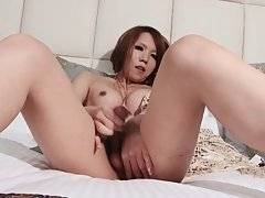 Naughty Asian T-Girl Shows All Her Charms 2